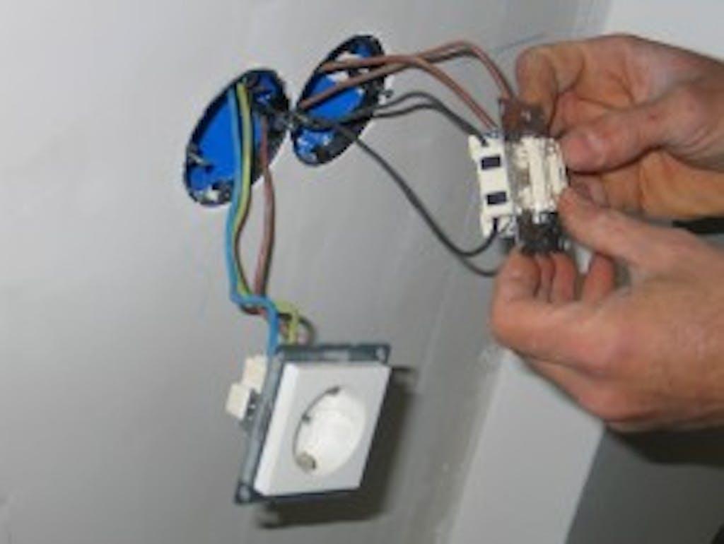 aanleg stopcontact